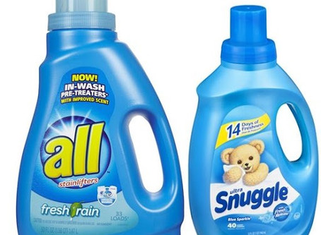 All Detergent/ Snuggle BOGO at Walgreens Beginning 4/5.