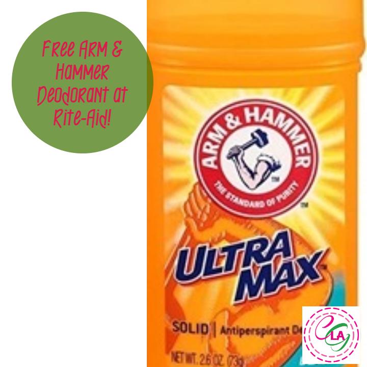 Free Arm & Hammer Deodorant at Rite-Aid