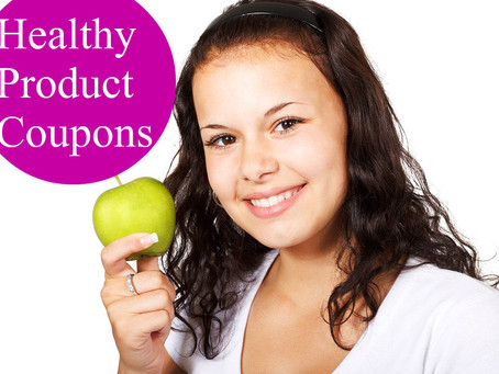 Healthy/ Organic  Printable Coupon Round-Up