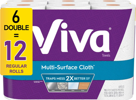 Viva Paper Towels, only $7.48 at Walmart