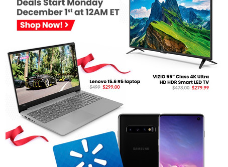 The Deals Don't Stop-Walmart Cyber Monday As Scan.