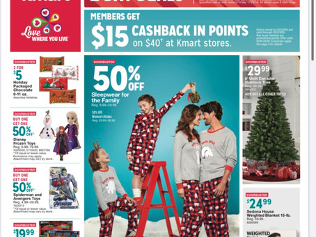 K-Mart Black Friday Ad Scan, 2019!