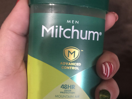 Mitchum Deodorant only $1.99 at Rite-Aid.