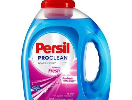 Persil Laundry Detergent $1.24 at Walmart.