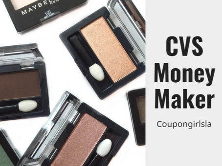 Next week: Moneymaker on Maybelline Eyeshadow