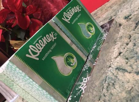 Kleenex Tissues, only $0.75 at Kroger.