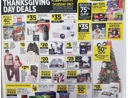 "Dollar General ""Black Friday"" Ad Scan!"