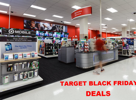 Five Hottest Deals at Target on Black Friday!