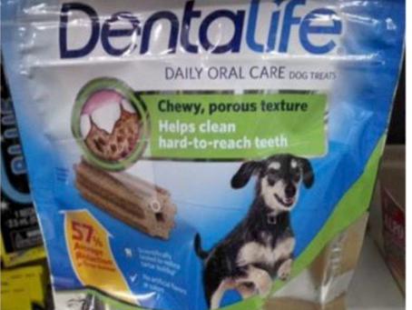 Free Dentalife Dog Treats at Dollar General