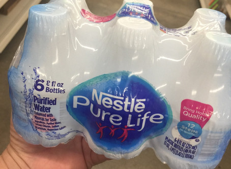 Nestle Pure-Life Water $0.50 at Family Dollar.