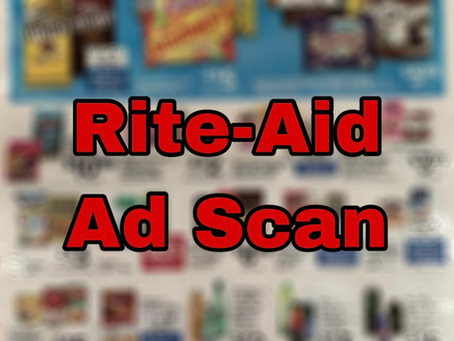 Super Early Rite-Aid Ad Scan, Beginning 2/23