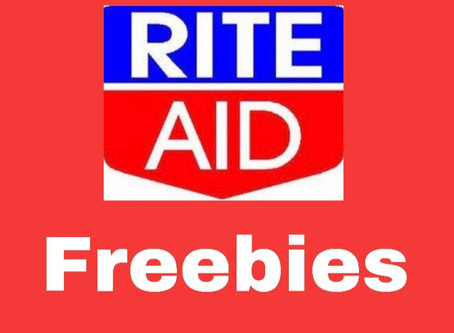 Rite-Aid: Three Freebies this week. 1/5!