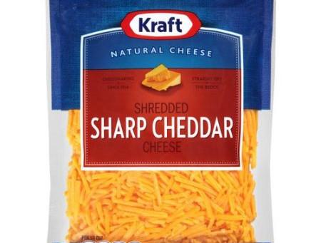 Kraft Shredded Cheese, $1.90 at Harris Teeter!
