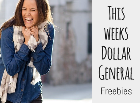 Dollar General Freebies the week of 3/9.