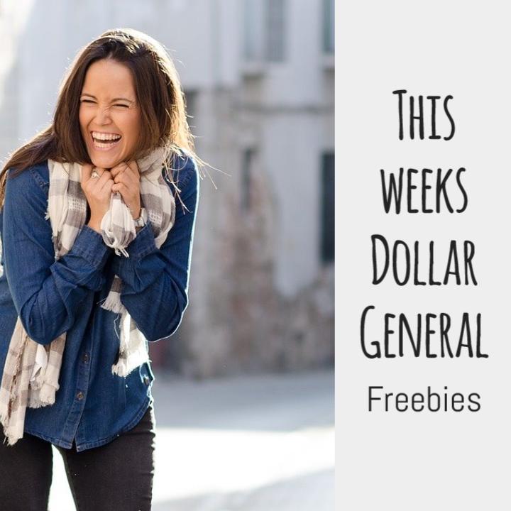Lady laughing Dollar General Freebies