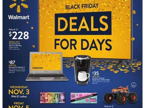 Walmart Pre-Black Friday Ad