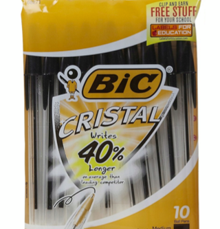 Bic Products as low as Free at Walmart.