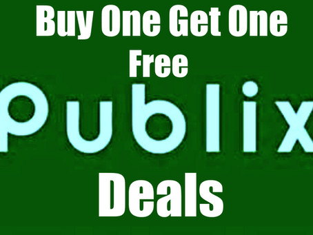 Publix Buy One Get One Free Deals for the week of 3/11!