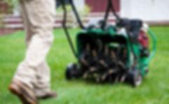 Oswego Lawn Aeration