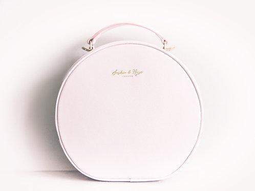 Therese Vanity Grab - Pink Nappa