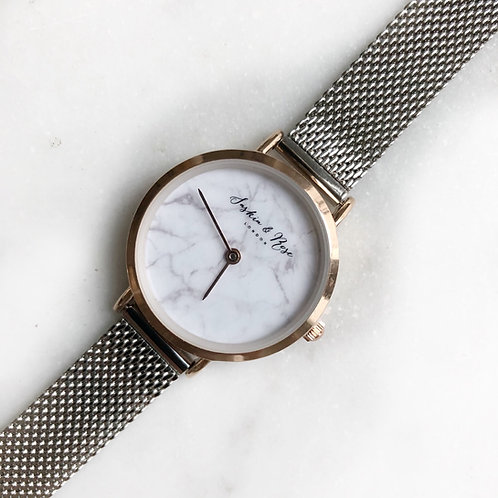 Marble adjustable watch