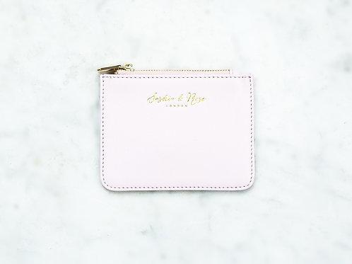Freya Coin Purse - Pink Nappa