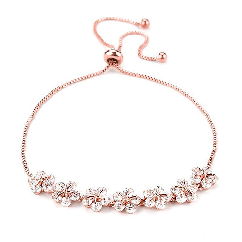 Buttercup rose gold bracelet