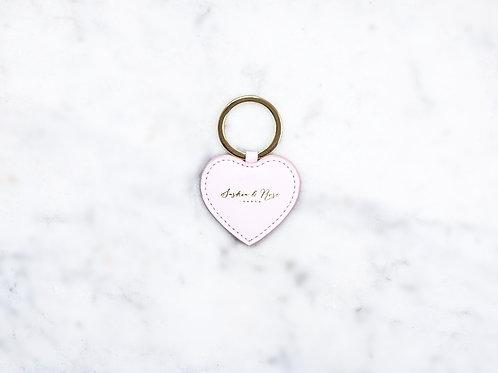 Otillie Key Charm - Pink Nappa
