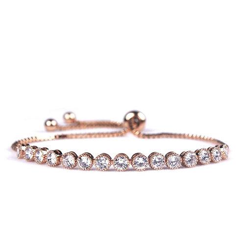 Snowdrop Rose Gold Bracelet