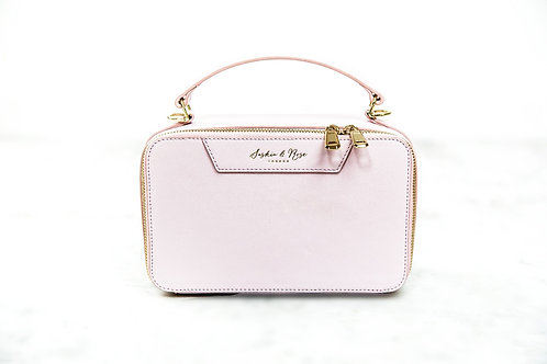 Therese Large Box Grab - Pink Nappa