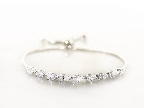 Bluebell silver bracelet