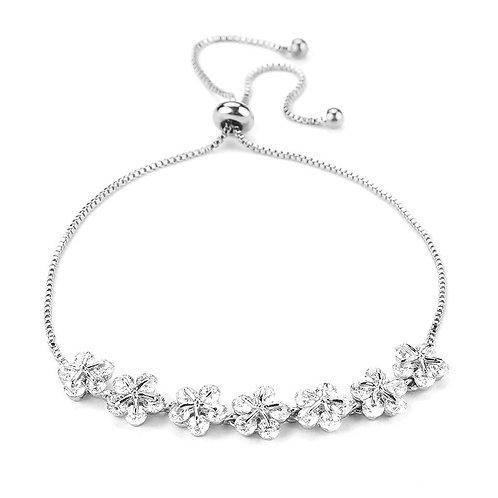 Buttercup silver bracelet