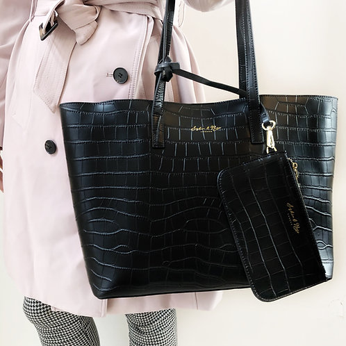 Kathryn Leather Tote
