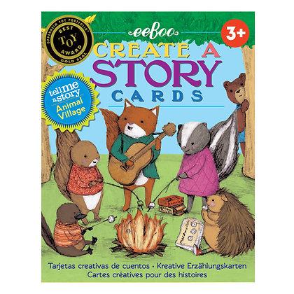 Tarjetas para inventar historias: Aldea Animal