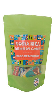Juego Memoria de Costa Rica