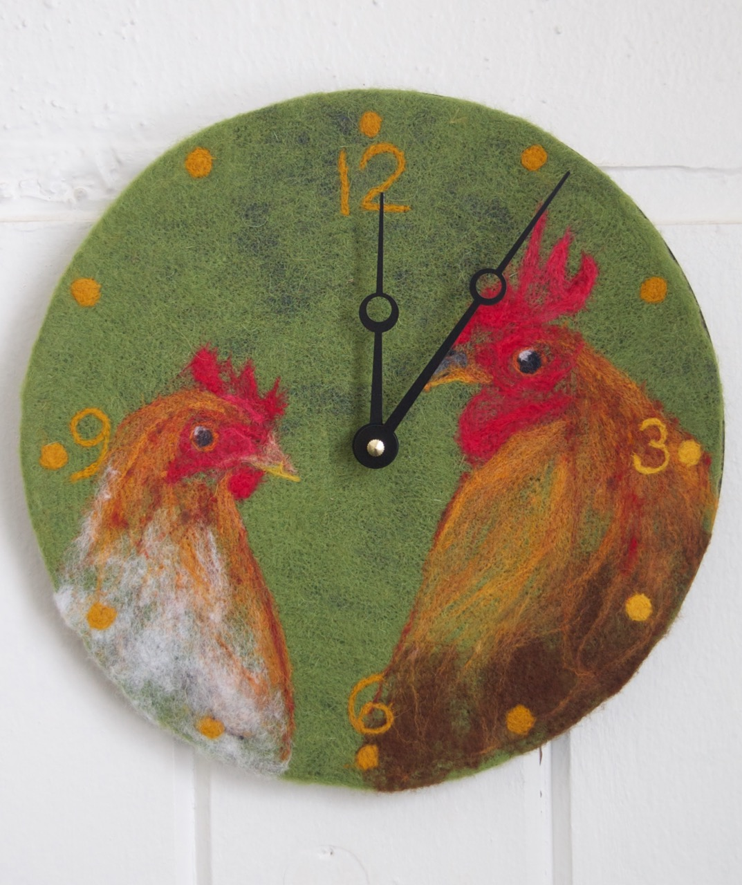 Chicken Love Clock