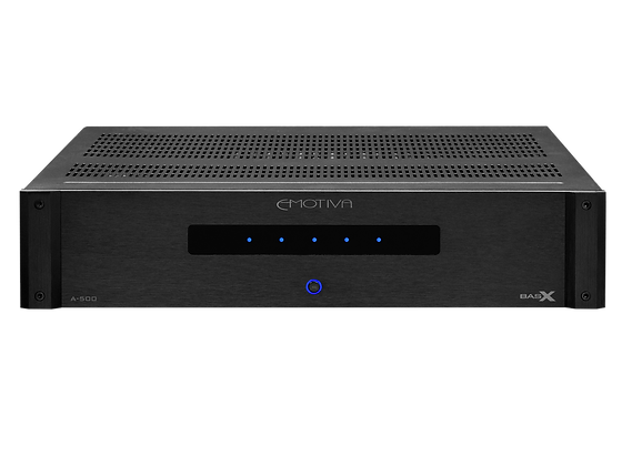 BasX A-500  Five Channel Power Amplifier