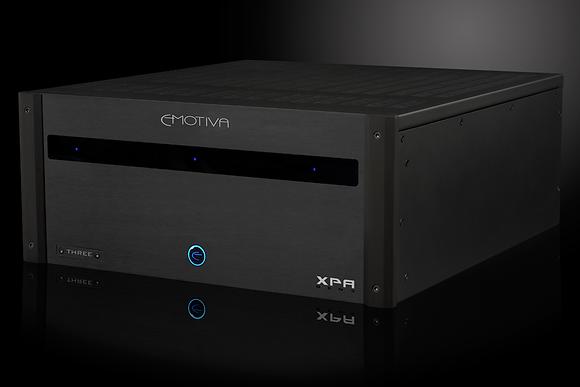 XPA-3 Gen3  Three Channel Fully Modular Power Amplifier 275W RMS per ch