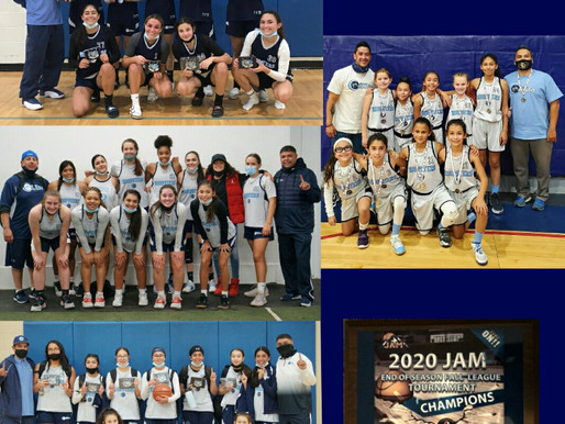 Hoopsters Finish Fall JAM League Strong