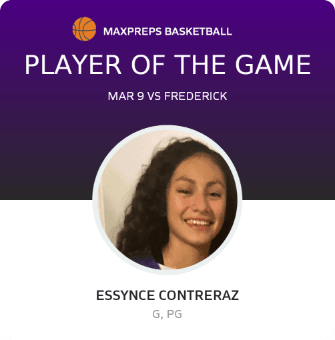 "Congrats ""Big E"" Essynce Contreraz"
