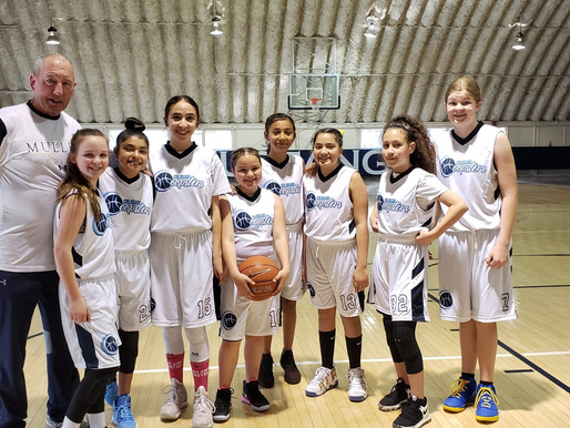 Great job 12u Hoopsters Blue!