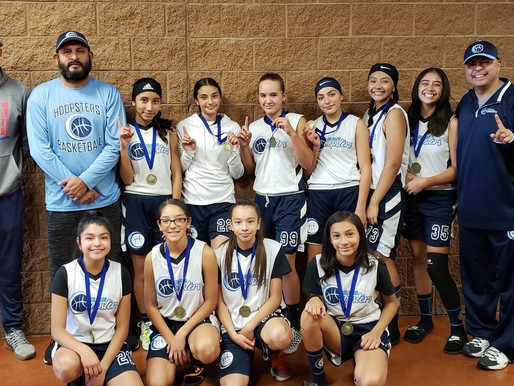 Hoopsters Win The Ball is Life Tournament