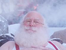 """""""Santa at the Hot Springs"""" - Old Navy"""