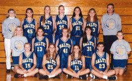 1996 Baltic Girls State B Champions HOF.