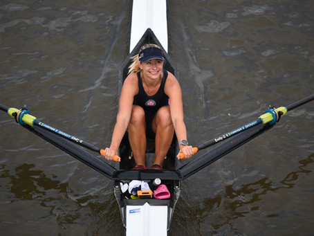 Fantastic win for Emily at Scullers Head