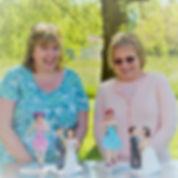 Sugarcraft figurines, students work, 1950's pinup girl, sugarpaste figures, France, Ladies only, classes, workshops creative retreats, rhu strand sugarcraft teacher