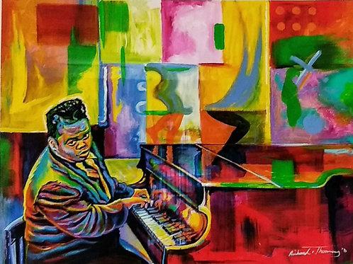 Spirit of the Red Piano (Original)