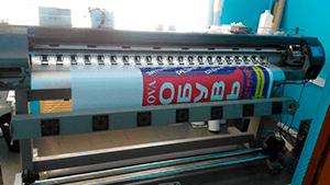 Широкоформатная печать на интерьерном плоттере