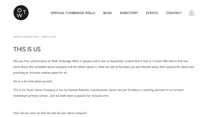 Official Tunbridge Wells Blog
