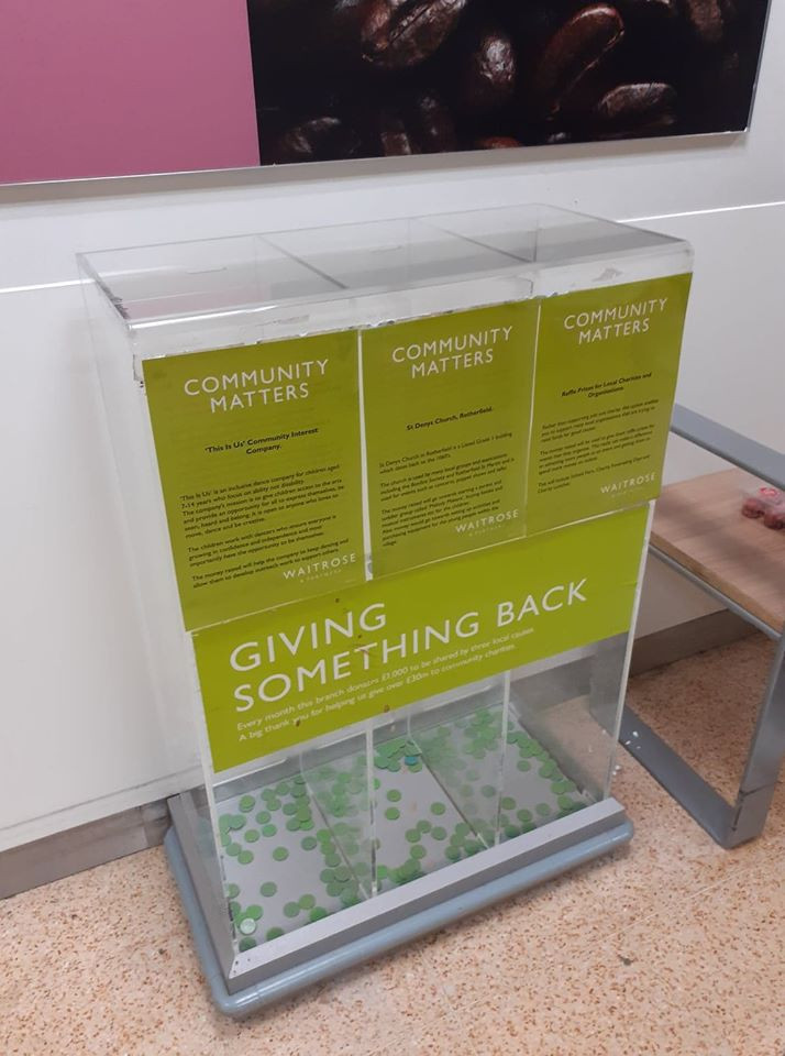 Community Matters, Waitrose Crowborough